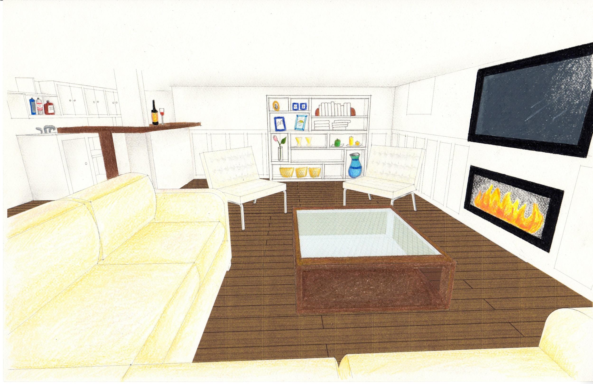 Final design, view 2