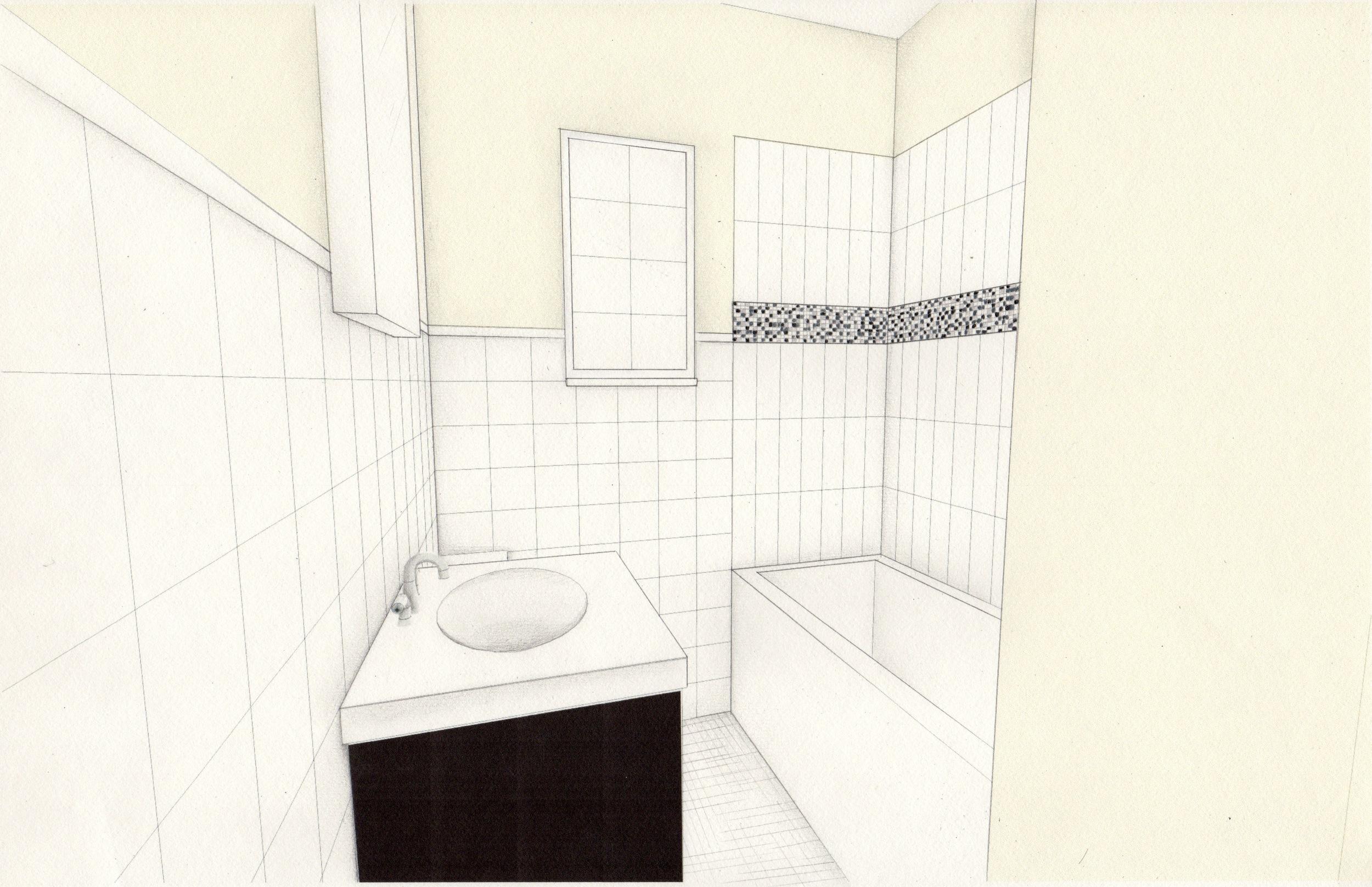 Proposed bathroom design