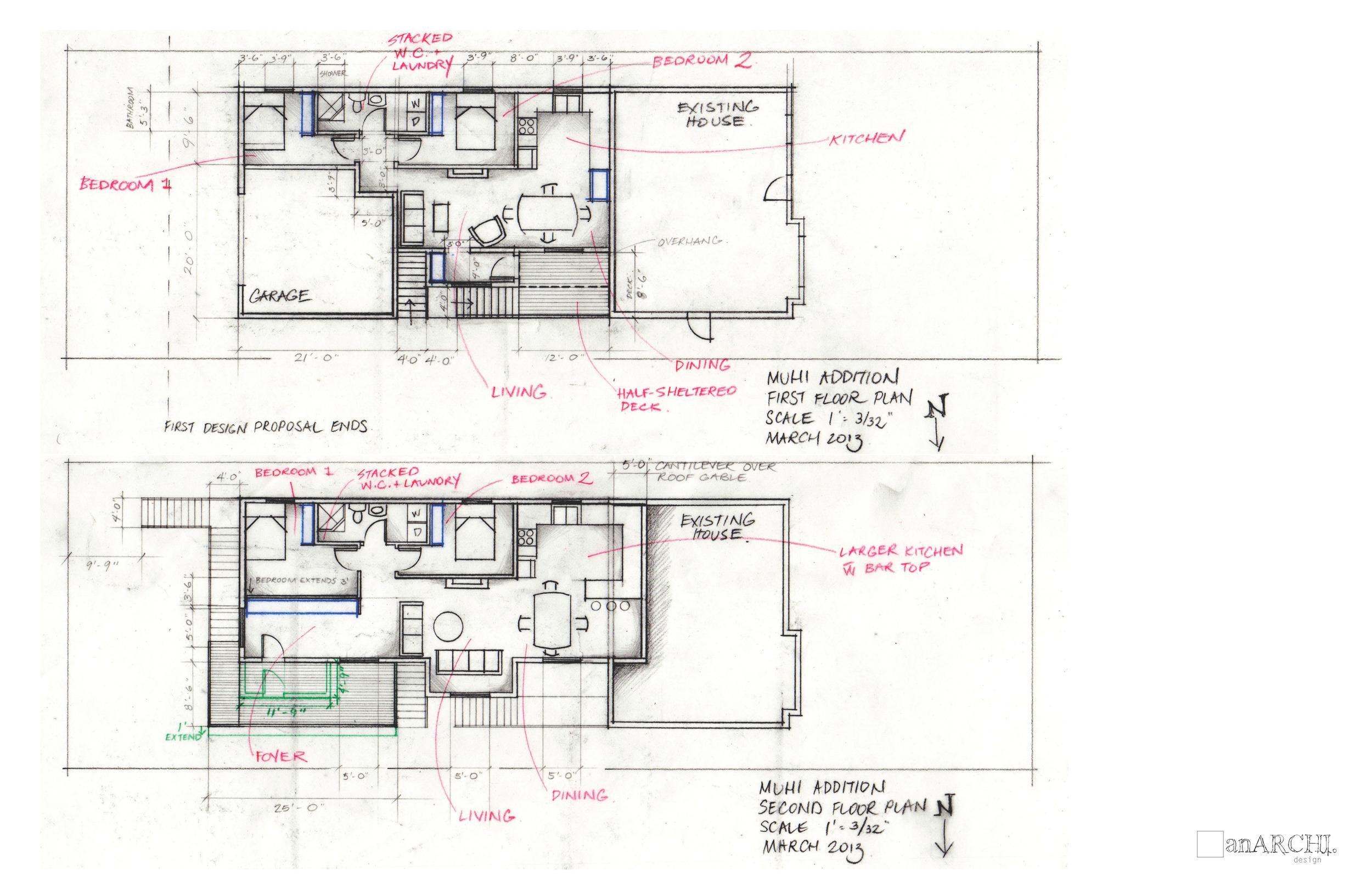 First floor suite plan
