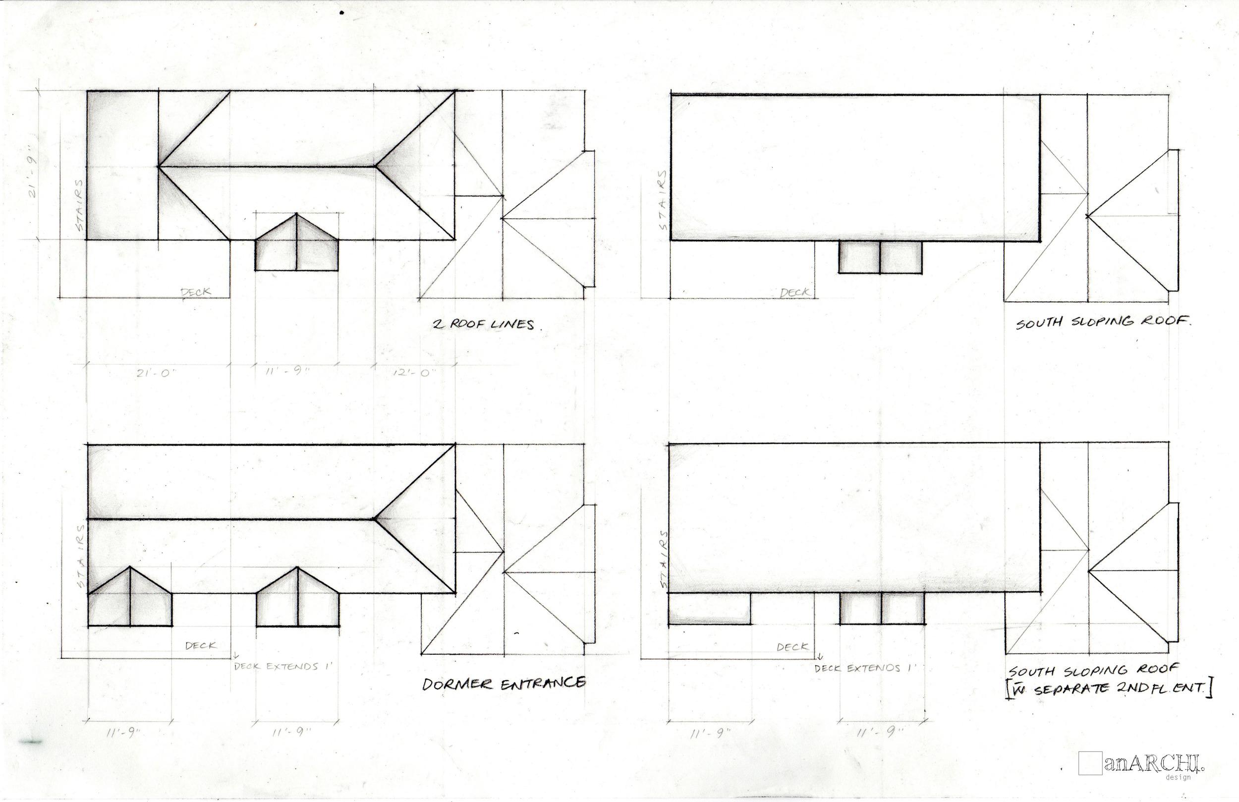 4 roofline design schemes