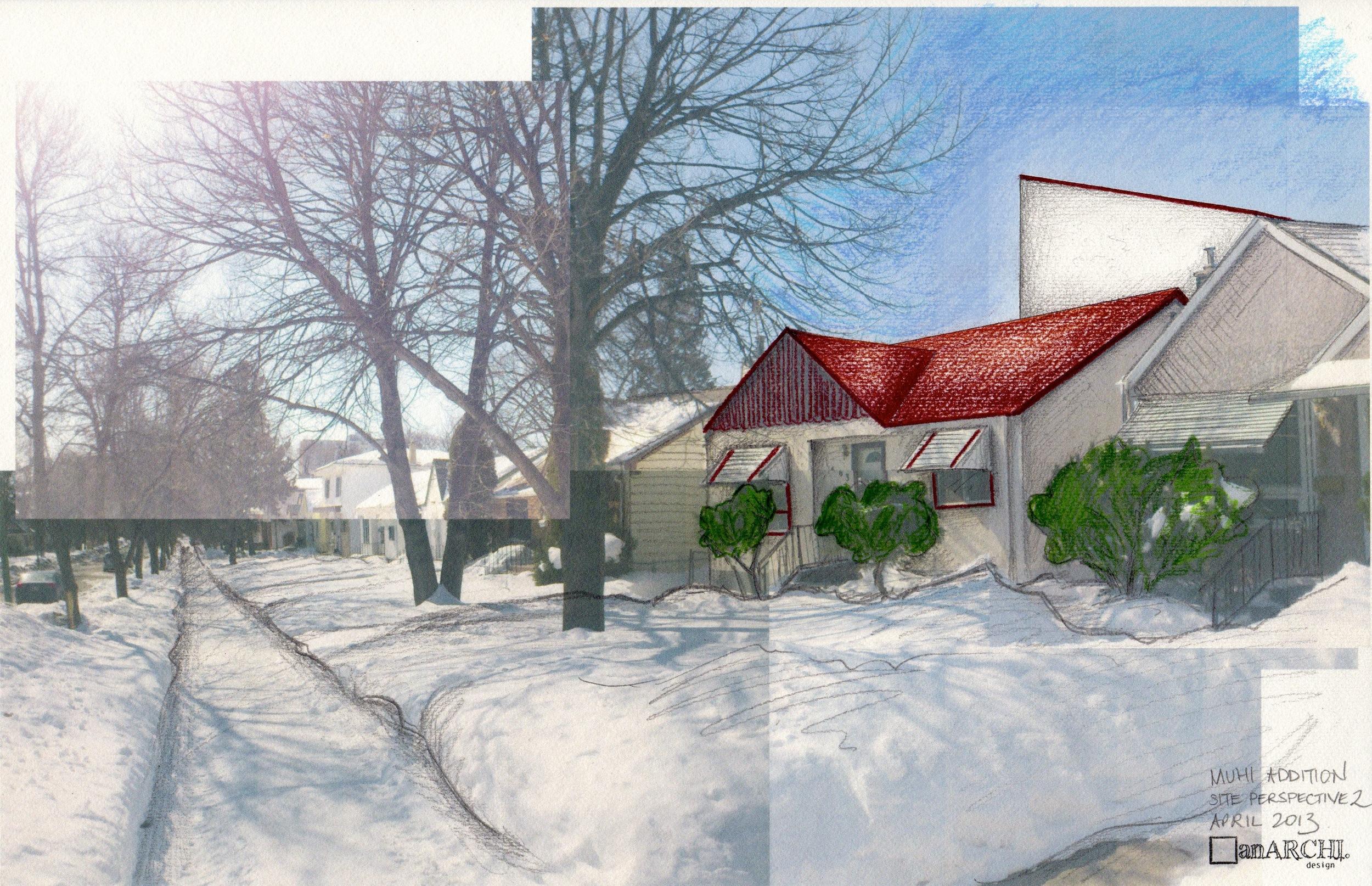 Design 1 - on site