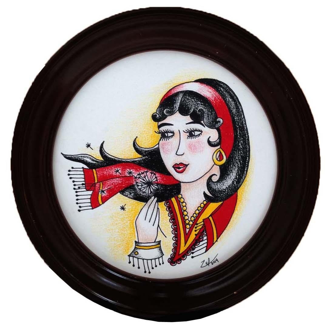 """""""Traditional Gypsy Tattoo"""""""