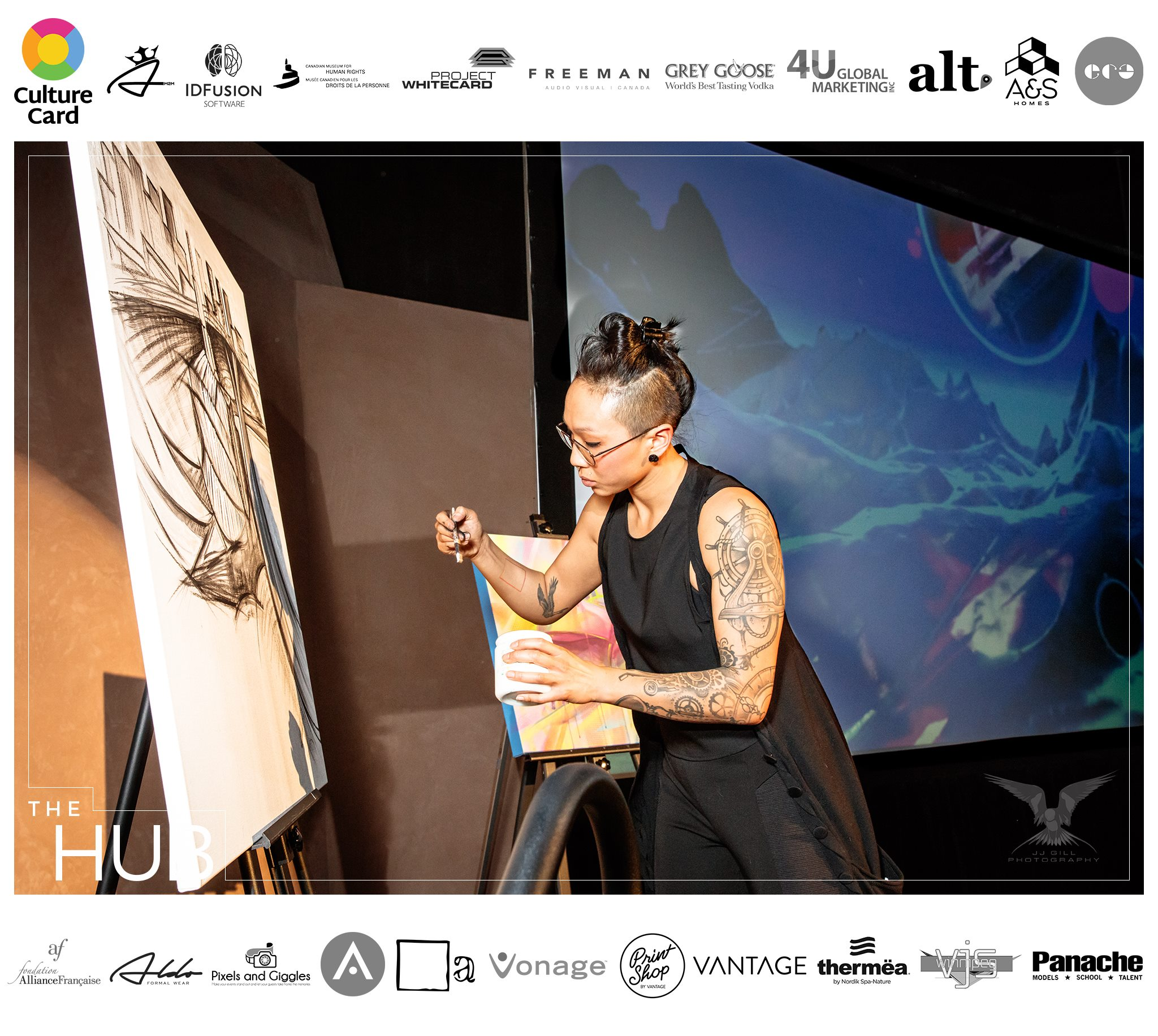 Culture Card App Launch Party at The Canadian Museum for Human Rights - March 2017