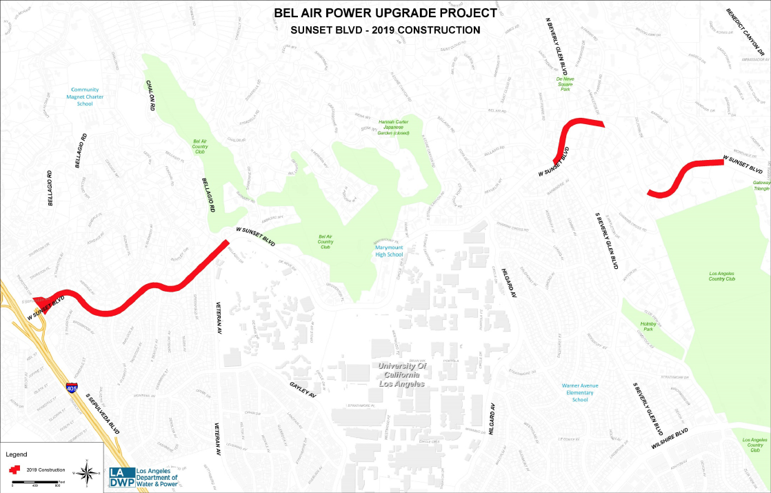 Bel Air Power Upgrade Project MAP.png
