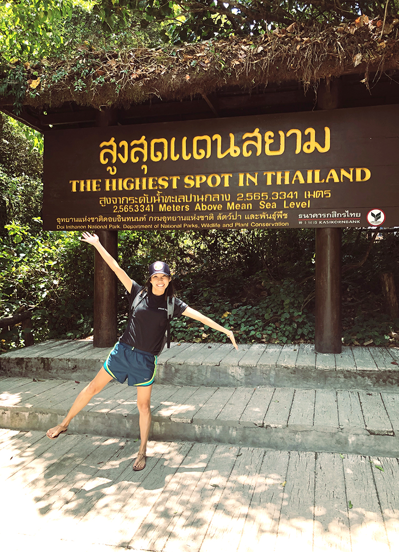 @ Doi Inthanon... the highest spot in thailand. this might also be representative of my heart in this season as well (: