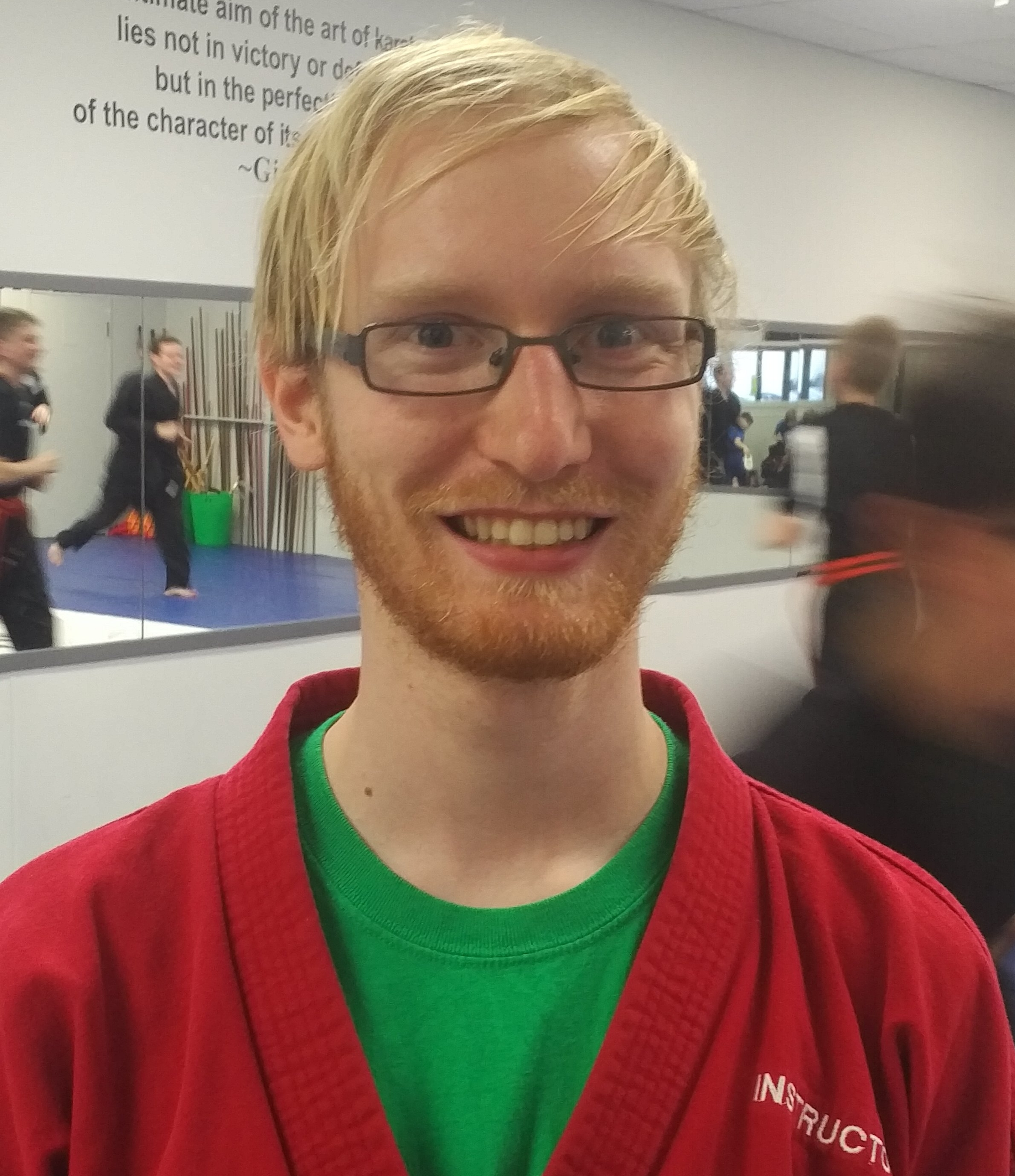 Sensei Scot Bowan  Rank: 4th degree  Been training since birth