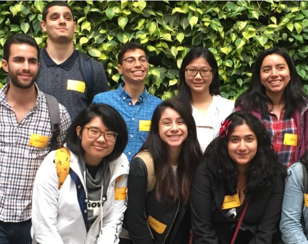 UC Berkeley Educational Opportunity Program students visit Airbnb