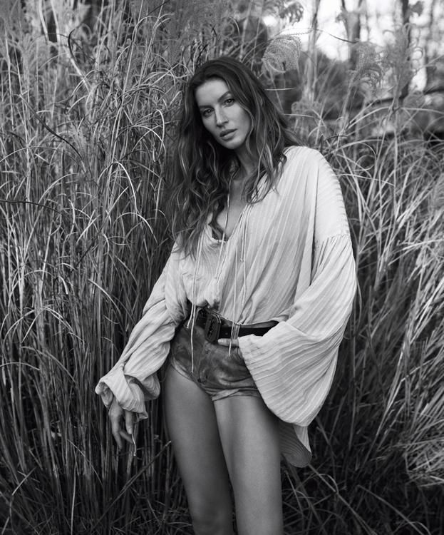 GISELLE IN WSJ MAGAZINE STYLED BY GEORGE CORTINA- BELT BY A. JASON ROSS