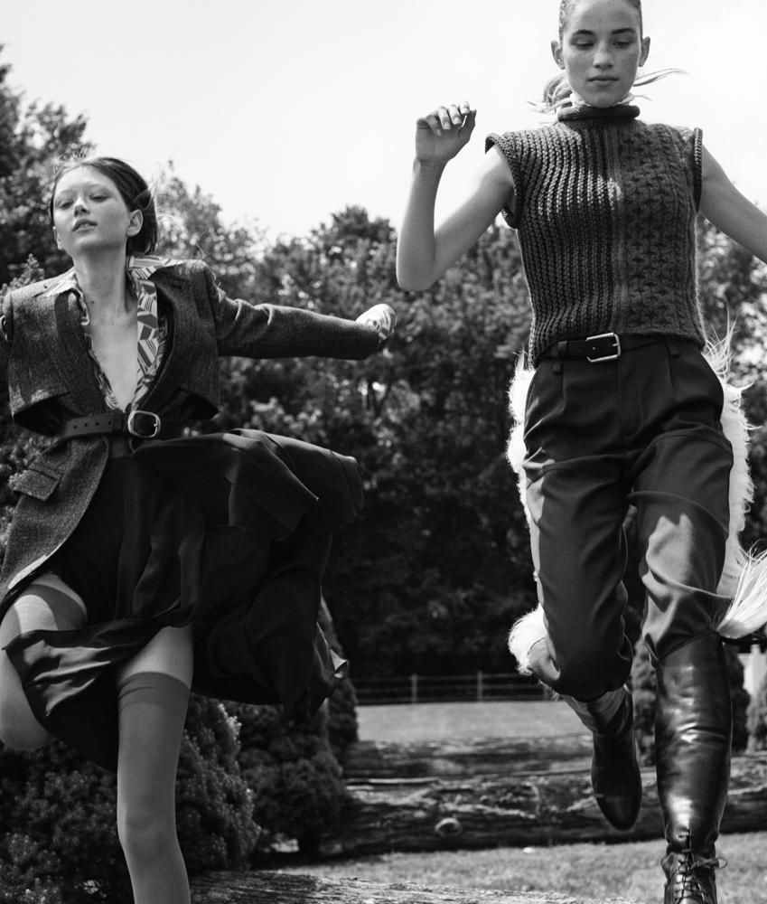 Photography by Josh Olins, Styling by Ludivine Poiblanc, BELTS BY A. JASON ROSS