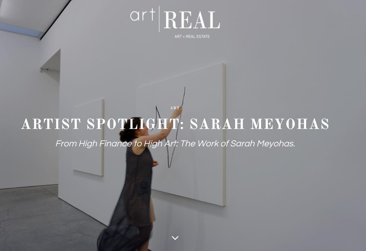artist spotlight sarah meyohas