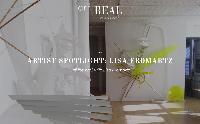 artist spotlight lisa fromartz