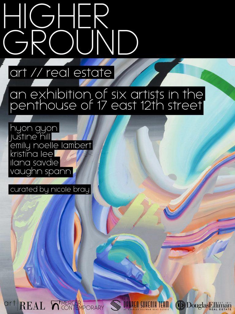 Higher ground exhibition flyer