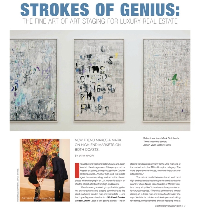 strokes of genius the fine art of staging for luxury real estate