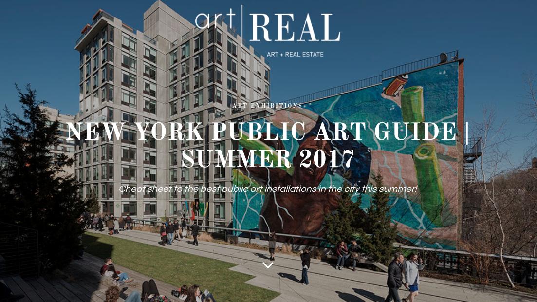 new york public art guide summer