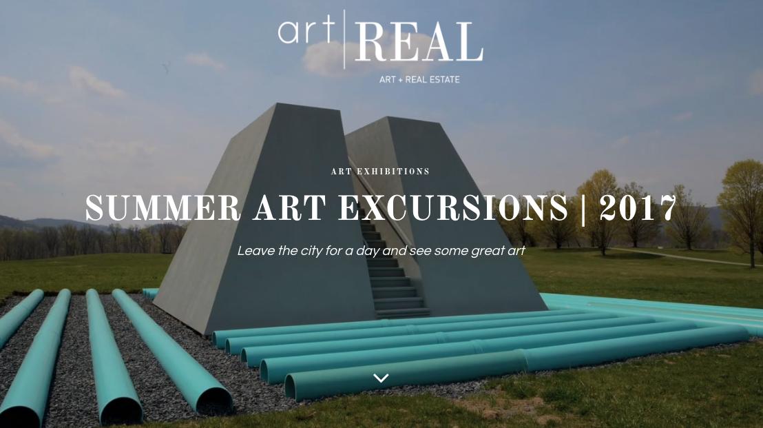Summer art excursions august new york