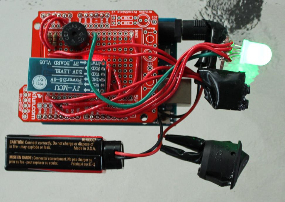 The guts of the base-model BBiQ™ prototype.
