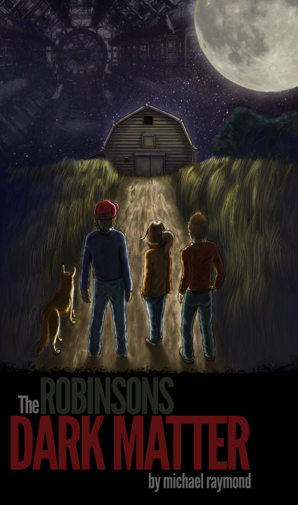 Cover Art for The Robinsons' Dark Matter, May 18 revision
