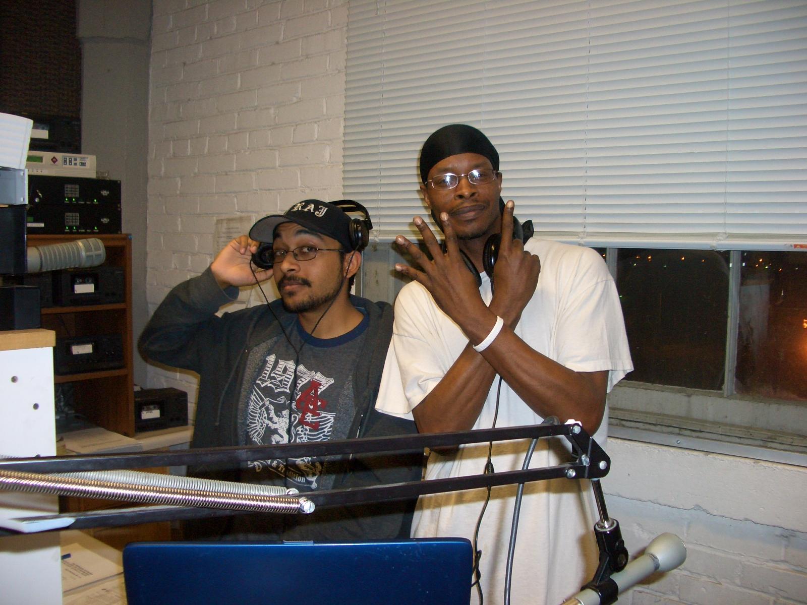 Raji Rabbit (DJ RAJ) and Mixmaster Jones Capone at WEO