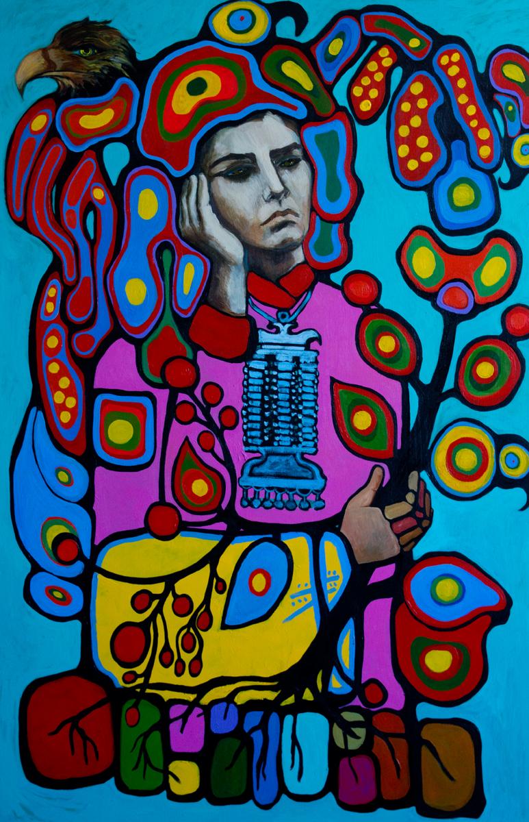 Self Portrait of the immigrant artist(60X40)2012web.jpg