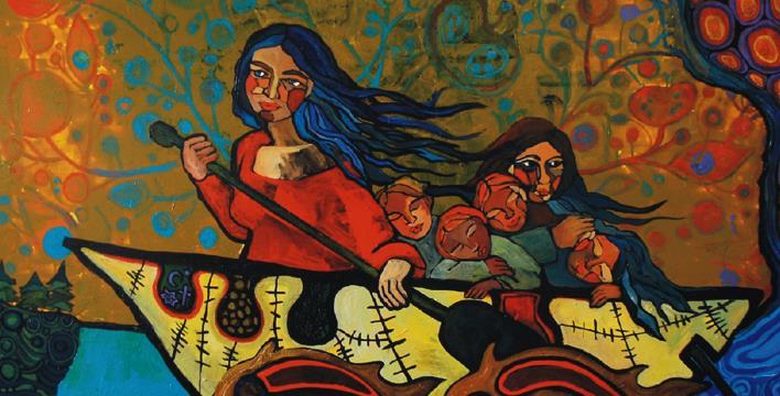 Native Immigrant Exhibit Montreal