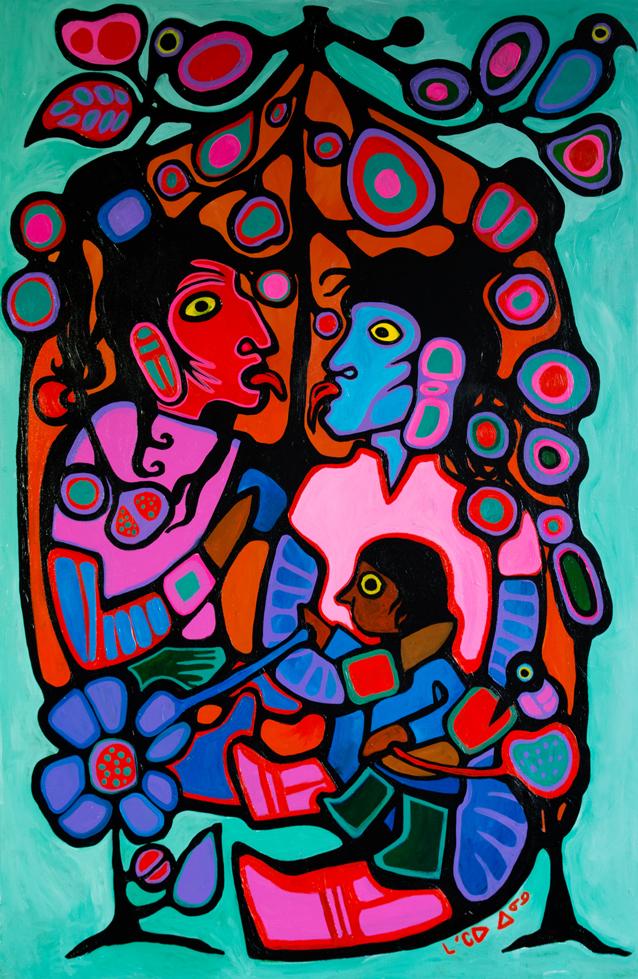Oh Quanada!, acrylic on canvas, 2013