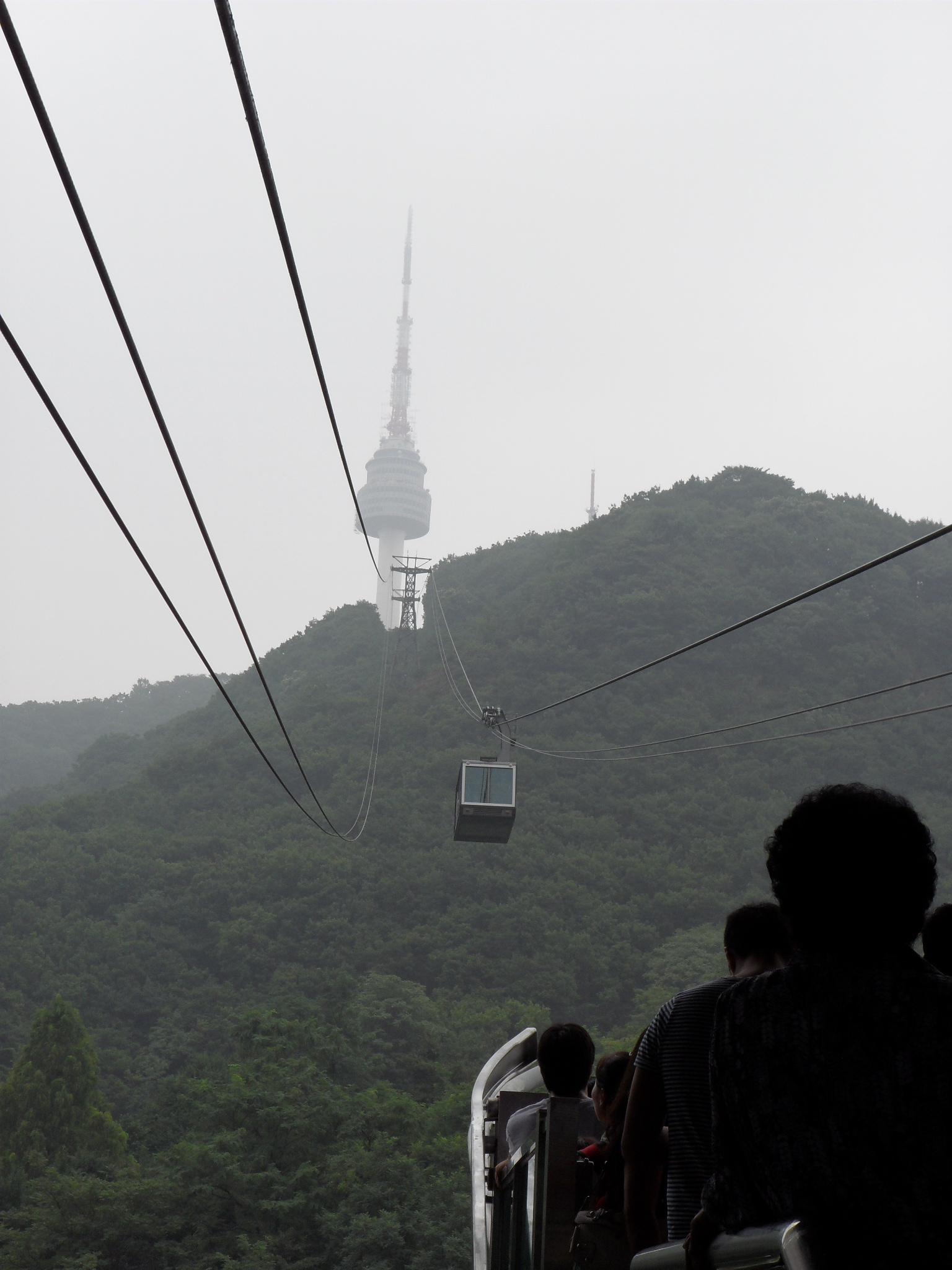 N Seoul Tower - 1574 ft high