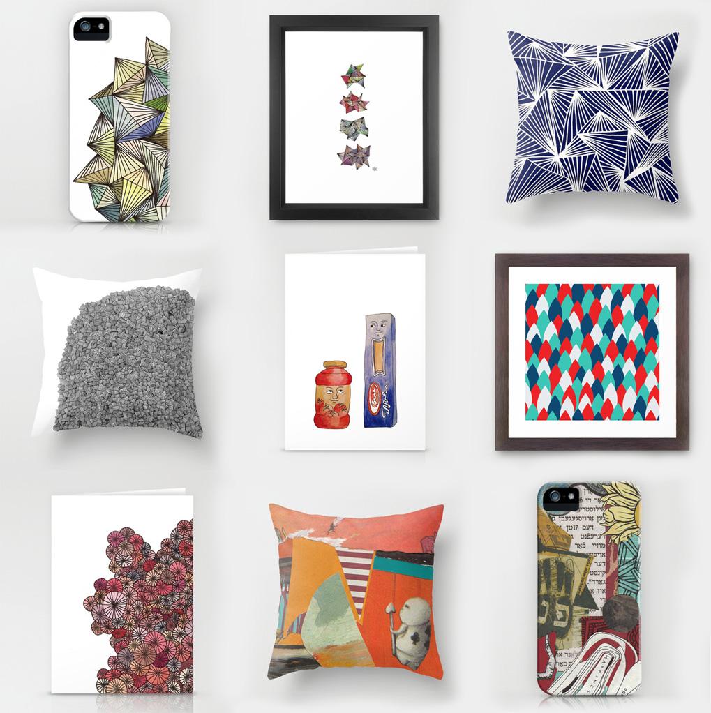 Designs by Shifra Whiteman.