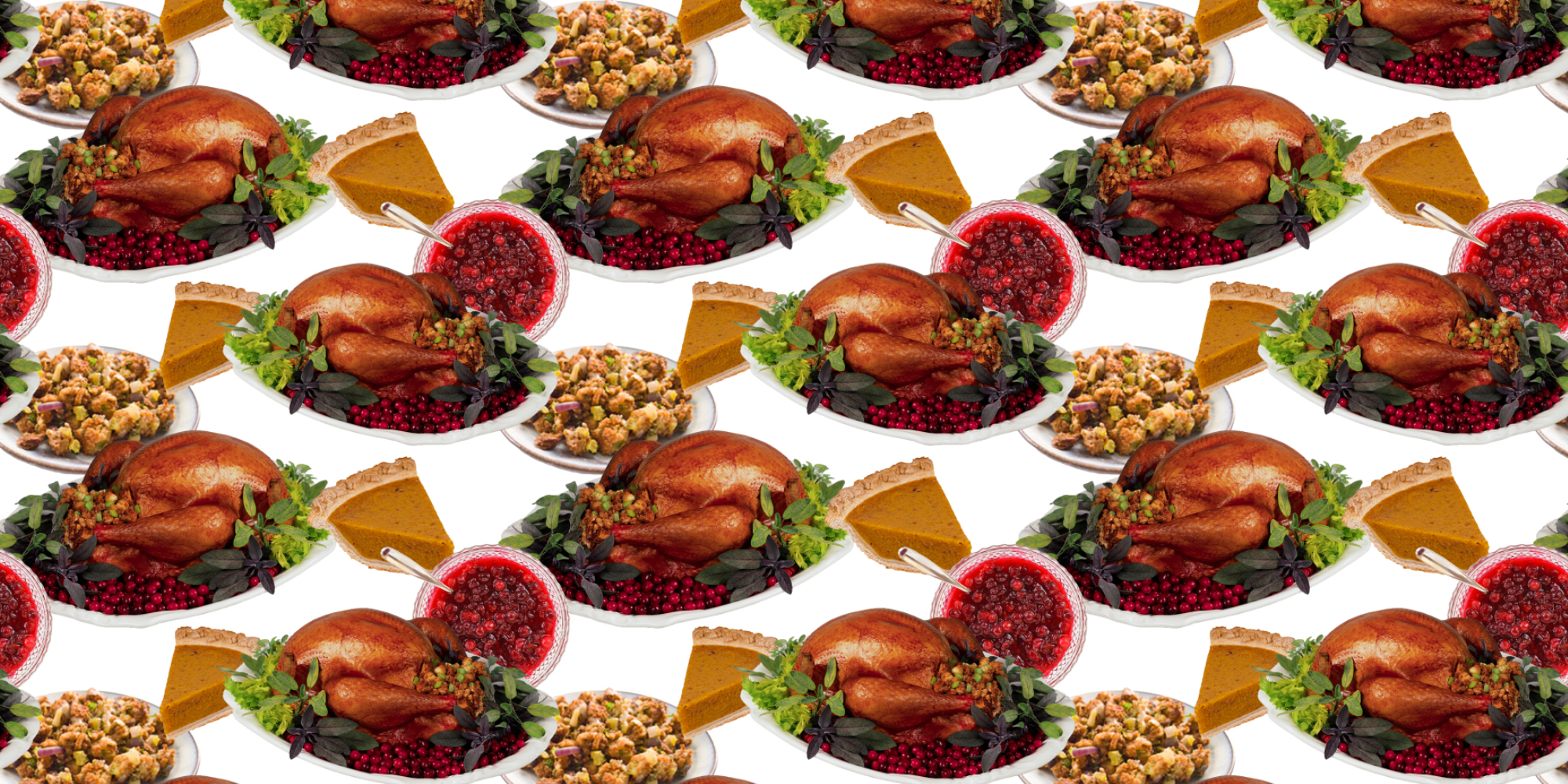 Yes, I am that much of a pattern nerd that I made my own Thanksgiving pattern :)