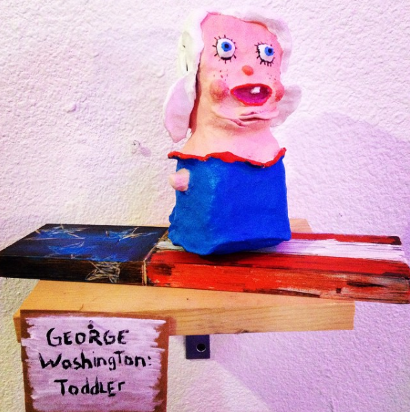George Washington: Toddler