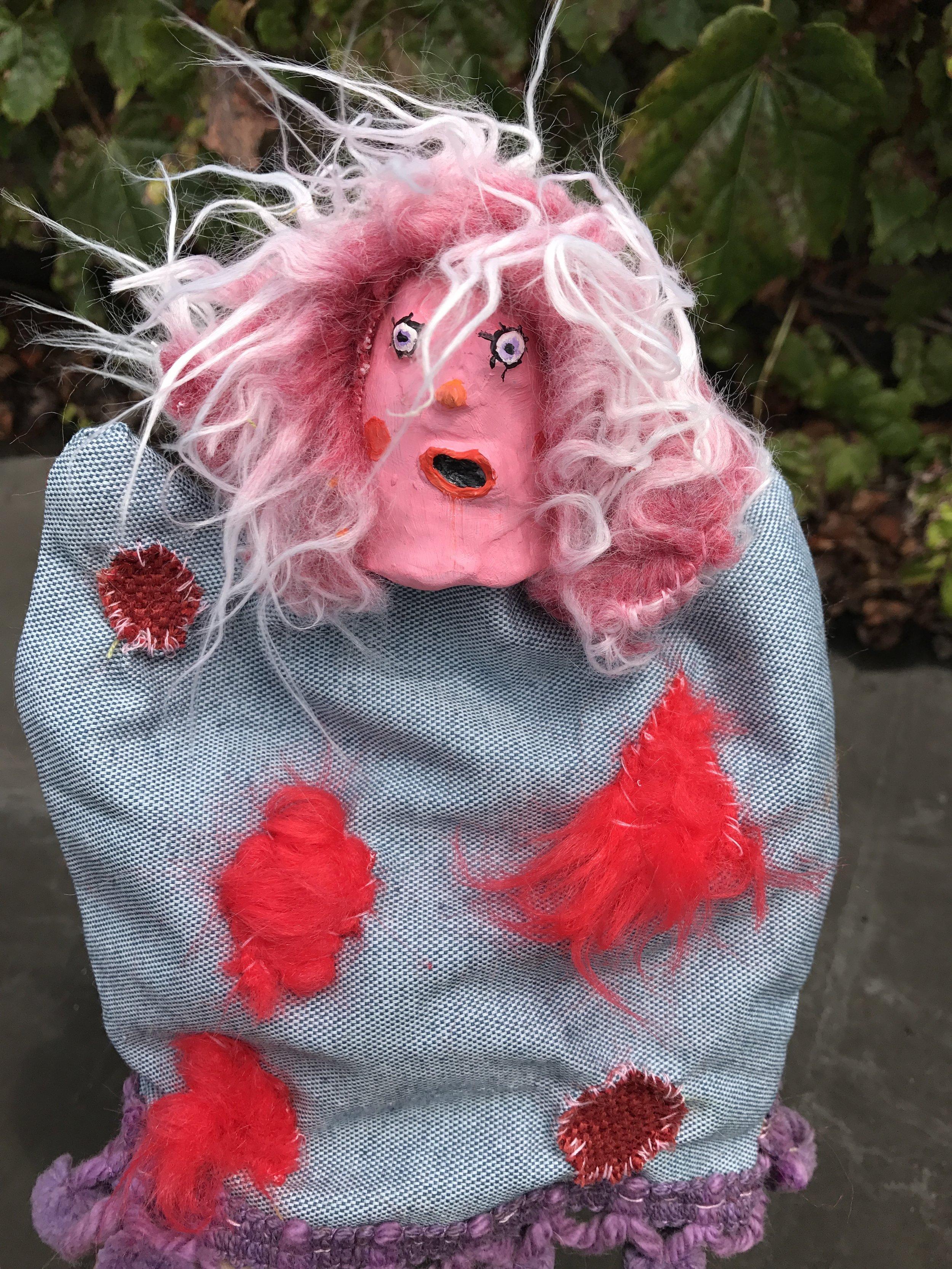 Dips, hand puppet
