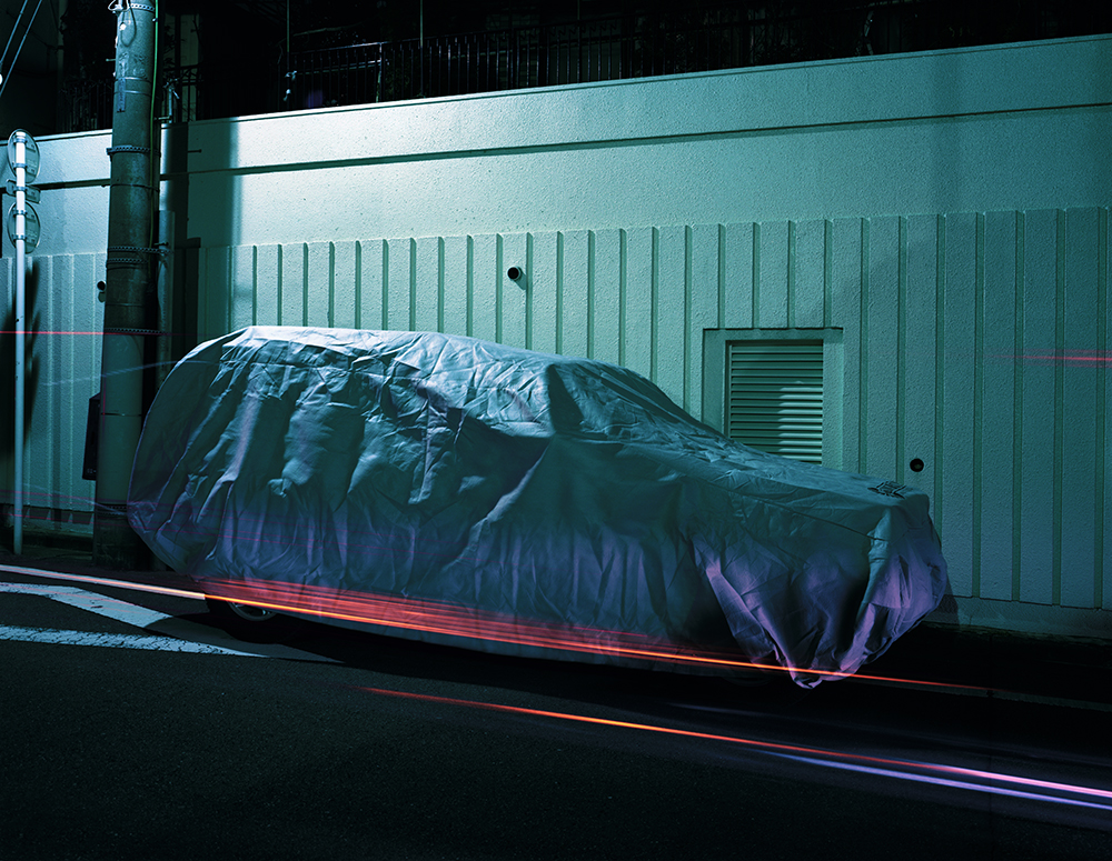 COVERED AUTOMOBILE #15 ©Takashi Homma All Rights Reserved