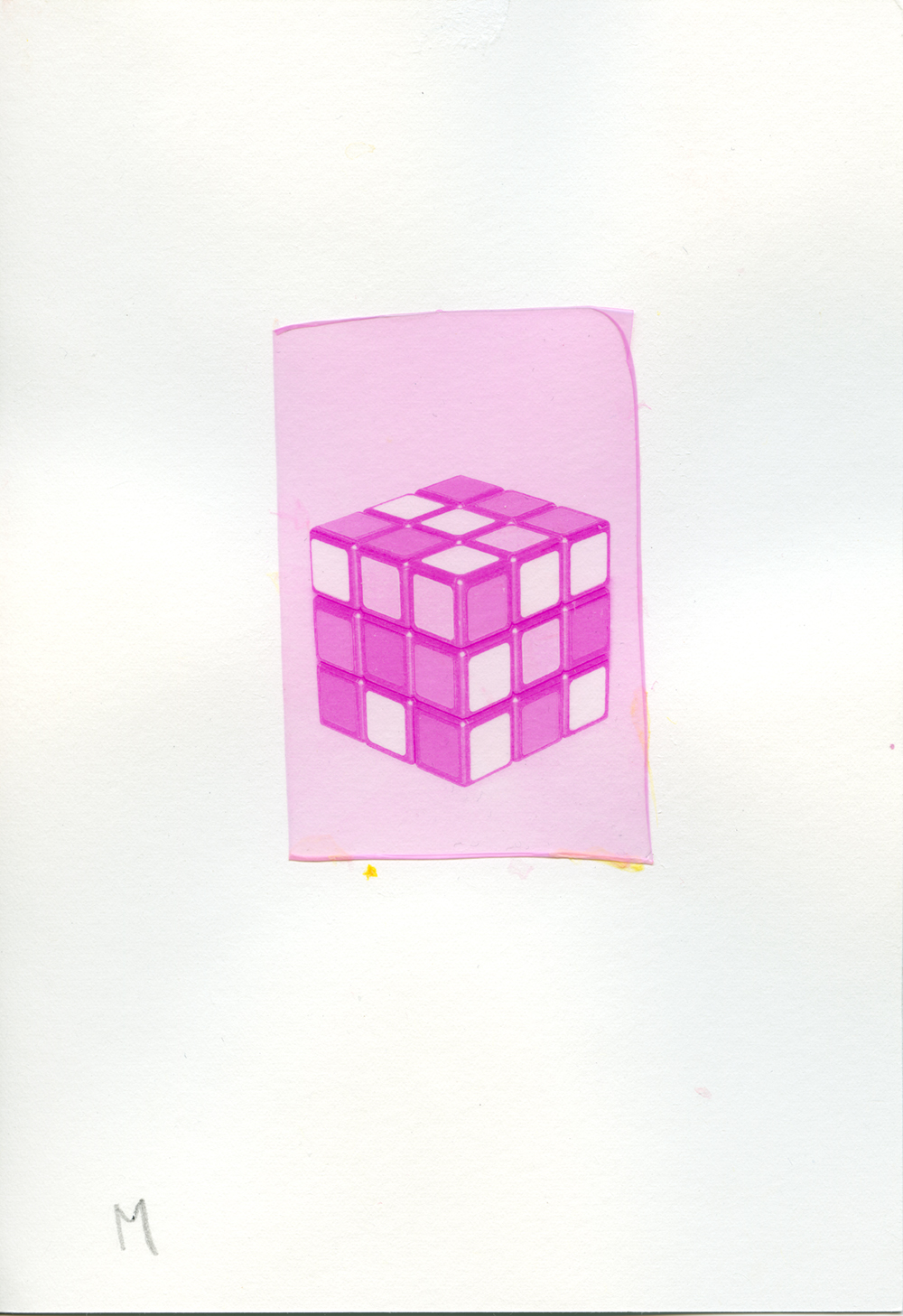 [C/M/Y_cube] ©Yuji Hamada, Courtesy of the artist and Photo Gallery International