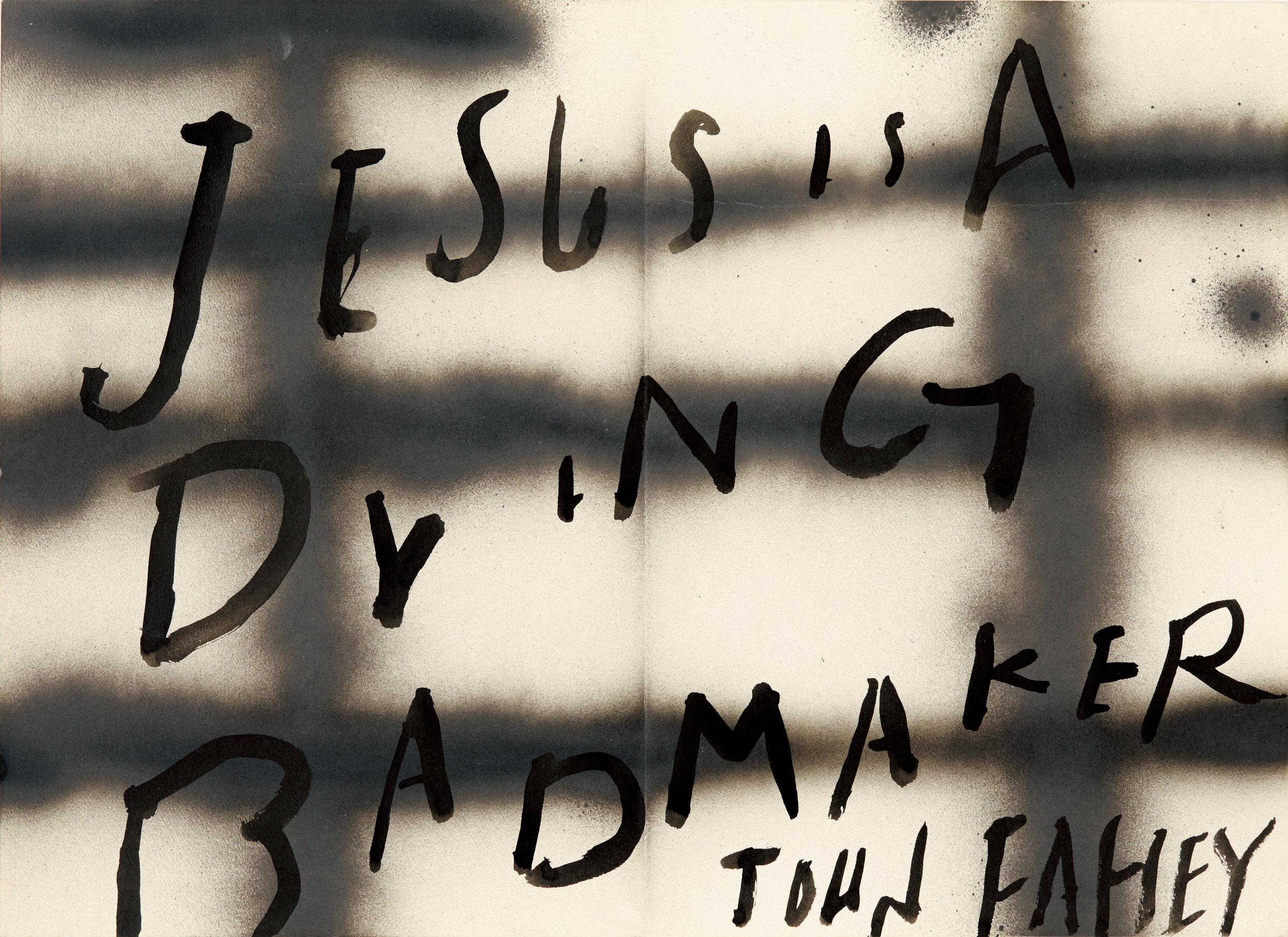 JESUS IS..., 2006 ©︎Jun Tsunoda