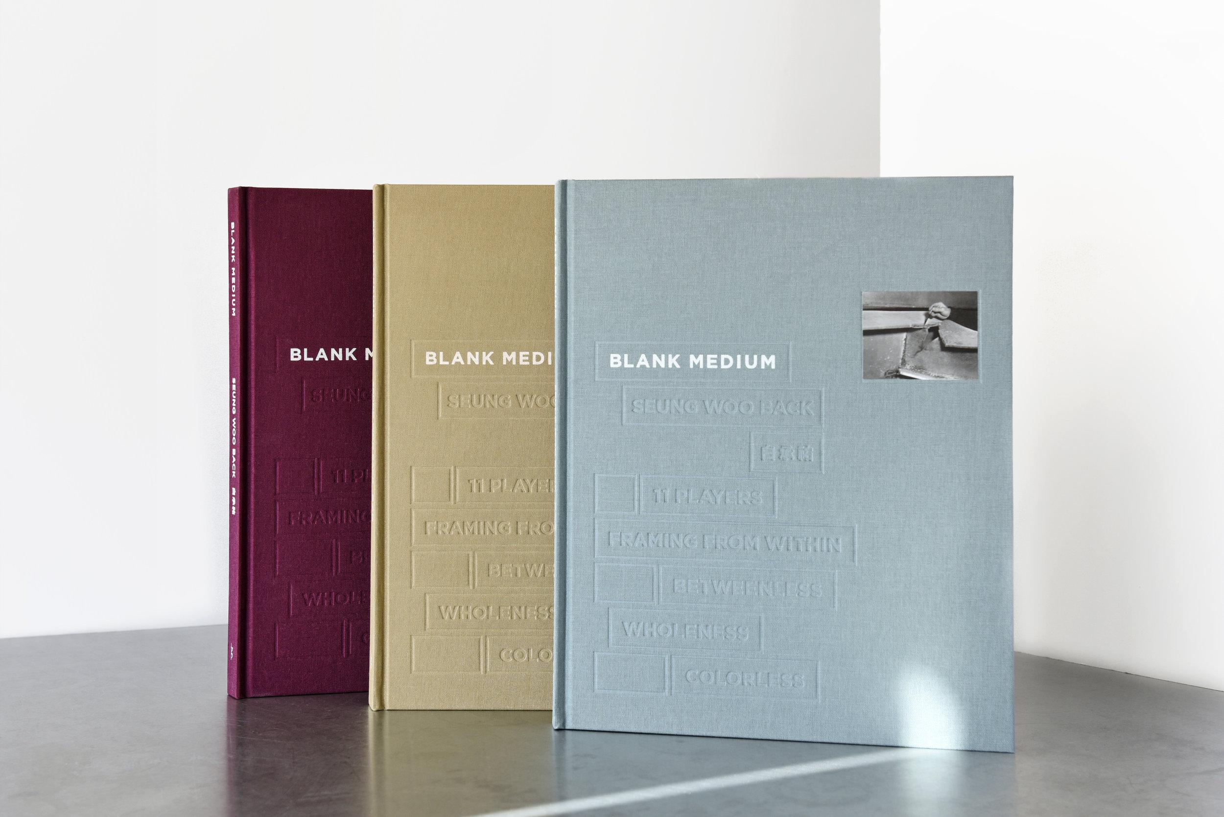 BLANK MEDIUM Published by Gana Art Center, 2017