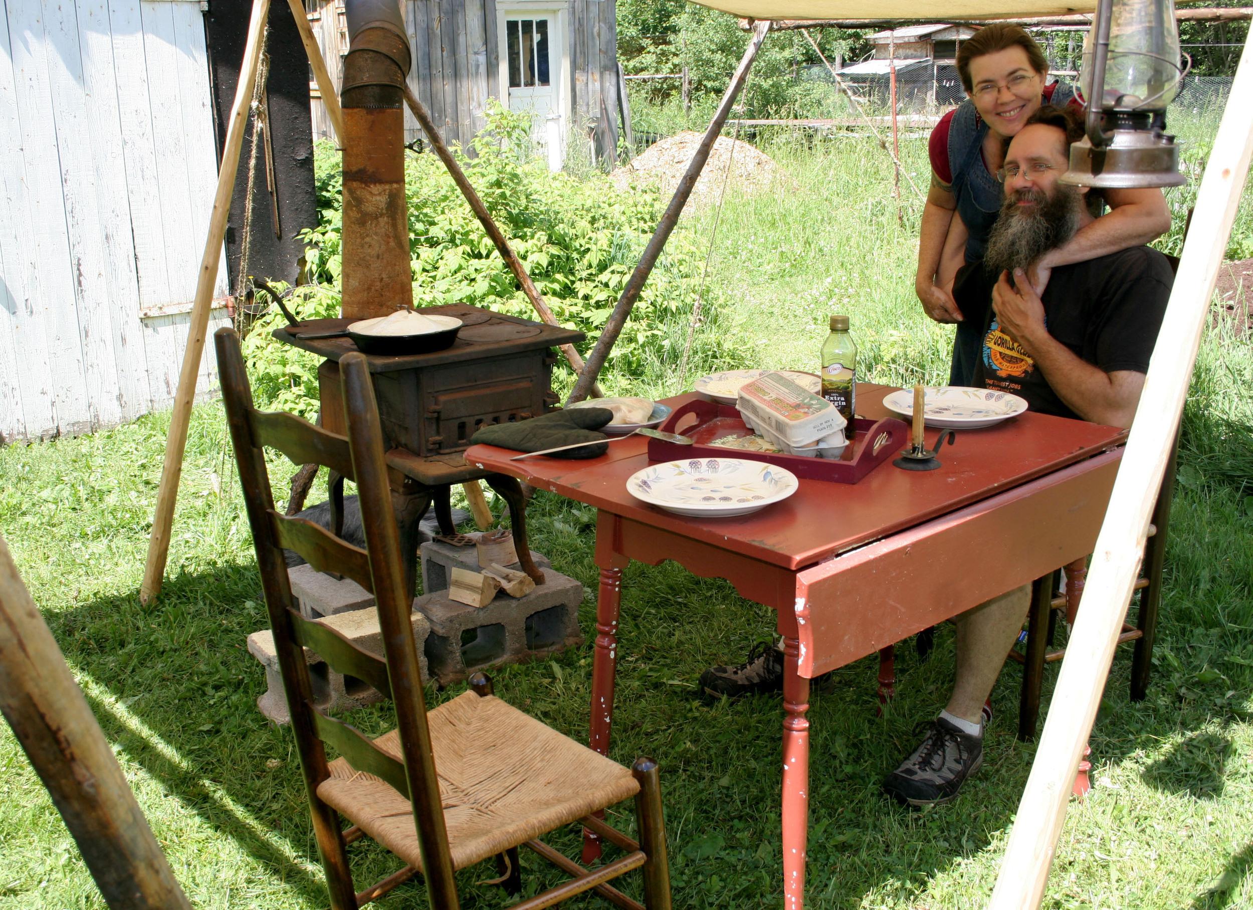 Summer Kitchen: Dan Roesinger and Saga Erickson of Stark Raven Studios