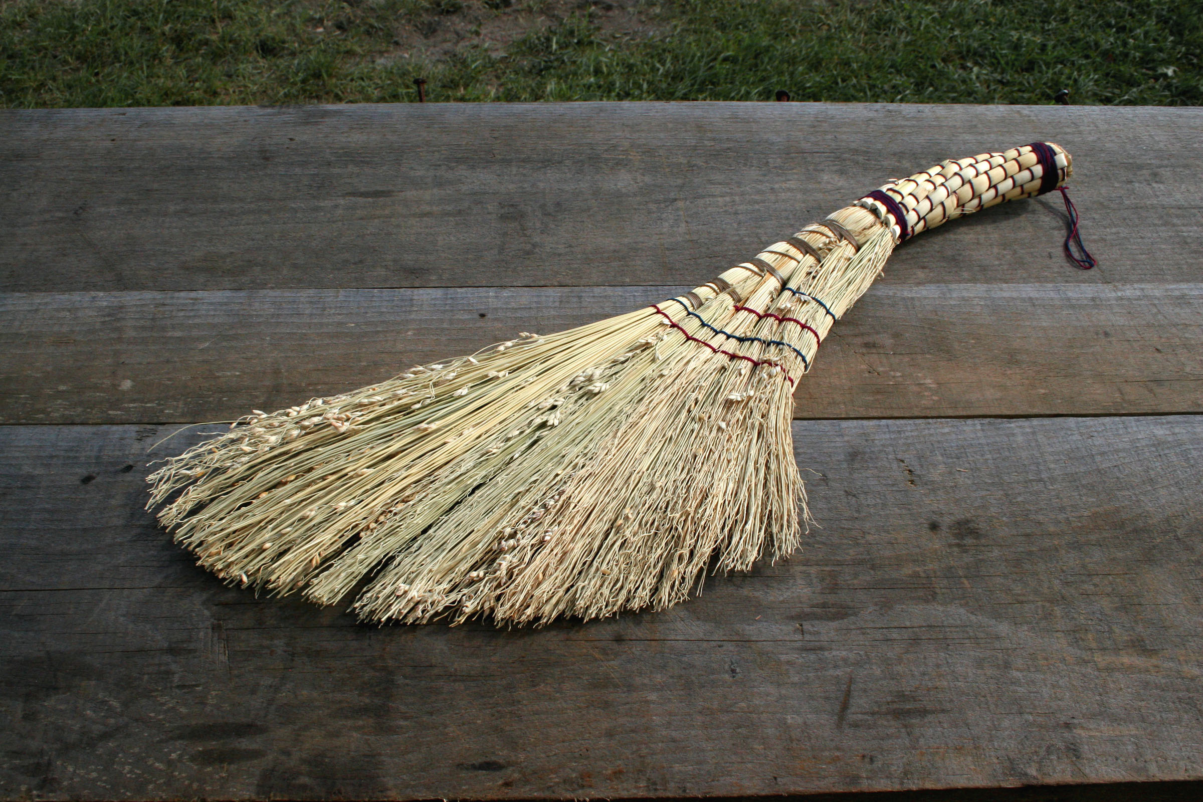 Fantail broom by Saga Erickson of Stark Raven Studios