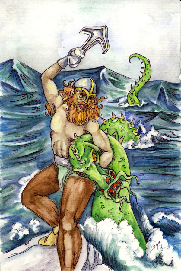 Thor and the Serpant - small.jpg