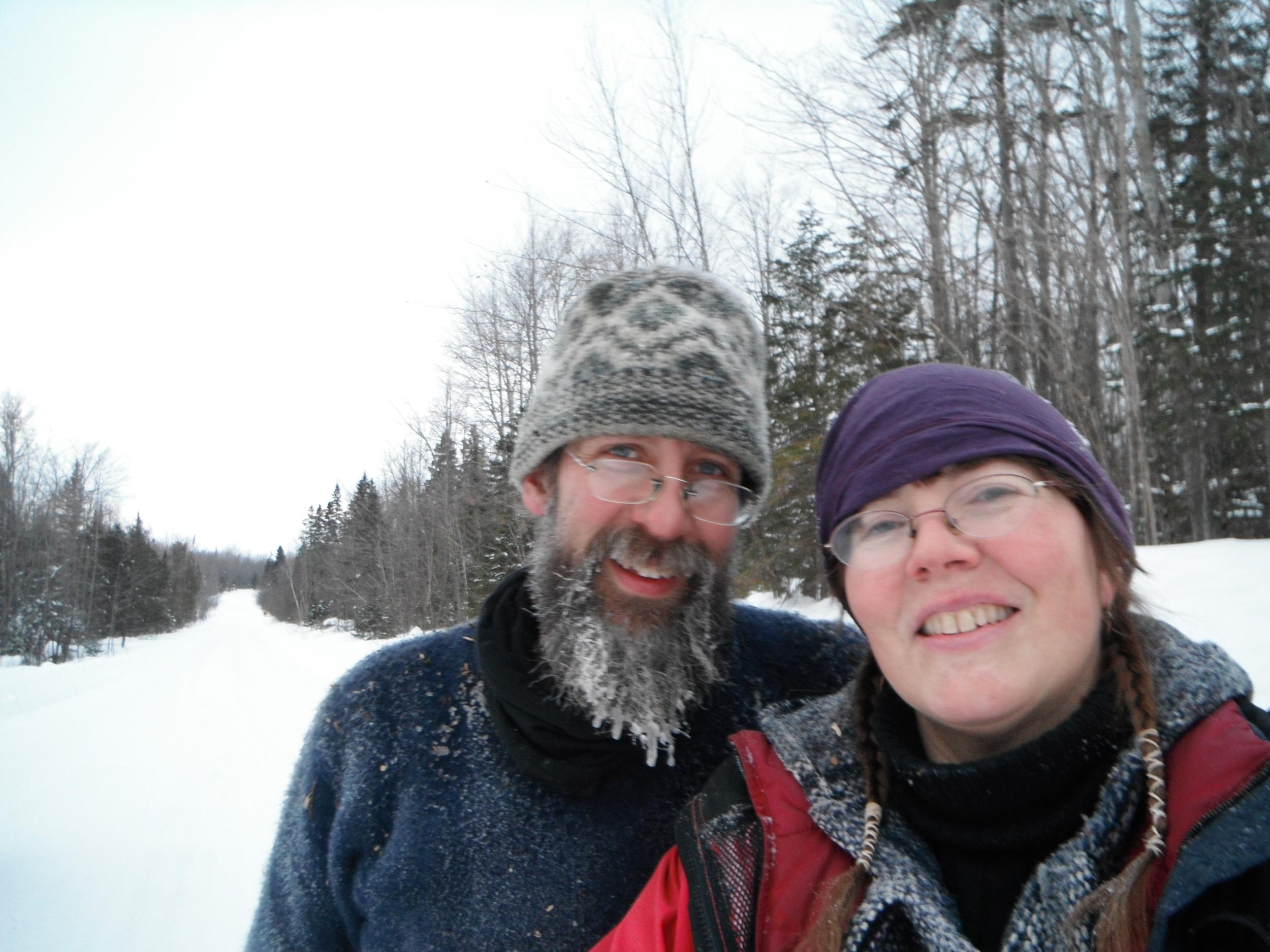 Wood gathering February 1, 2014