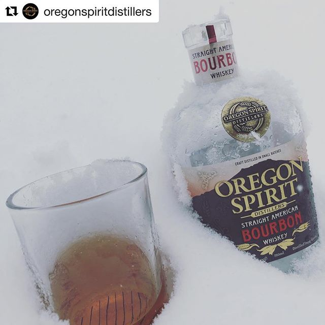 It's been a snowy few weeks over the hill in Bend where Oregon Spirit Distillers makes their spirits, but they'll be braving the pass to join us for Toast 2019 this weekend! #Repost @oregonspiritdistillers  #snowpacalypse2019 #snowpacalypse #snowday #bourbon #glassishalffull #oregonspiritdistillers #oregonspirit #doyouhaveoregonspirit #graintobottle #inbend #distillery #distilledinbend #bendwinter