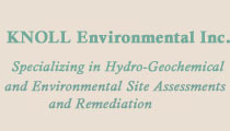 Knoll Environmental - Hydro-Geochemical and Environmental Site Assessments and Remediation