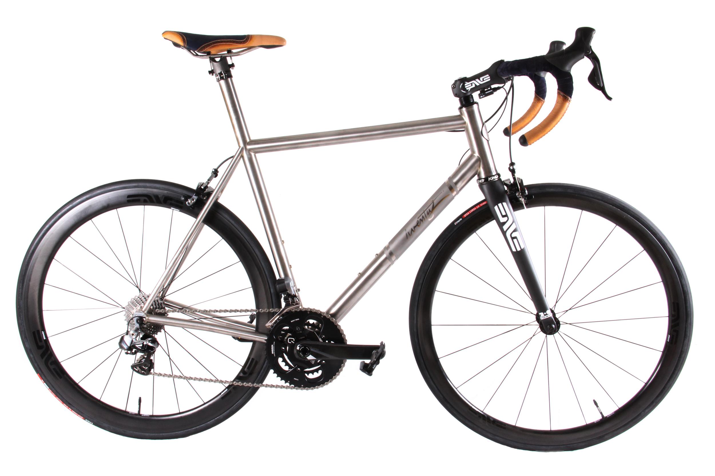 Twenty2 Cycles Ti Road Bike X LEH Custom  — Leh Cycling