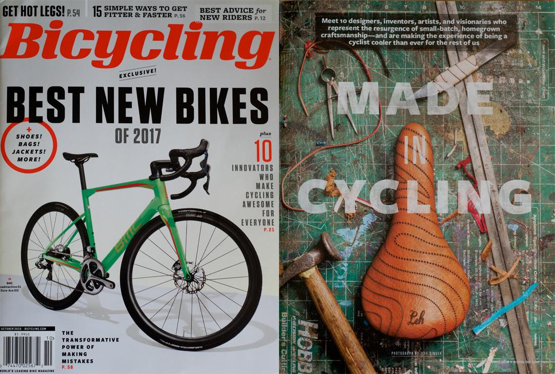 Leh Cycling Bicycling Magazine