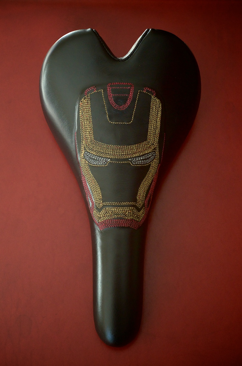 Leather Bicycle Seat