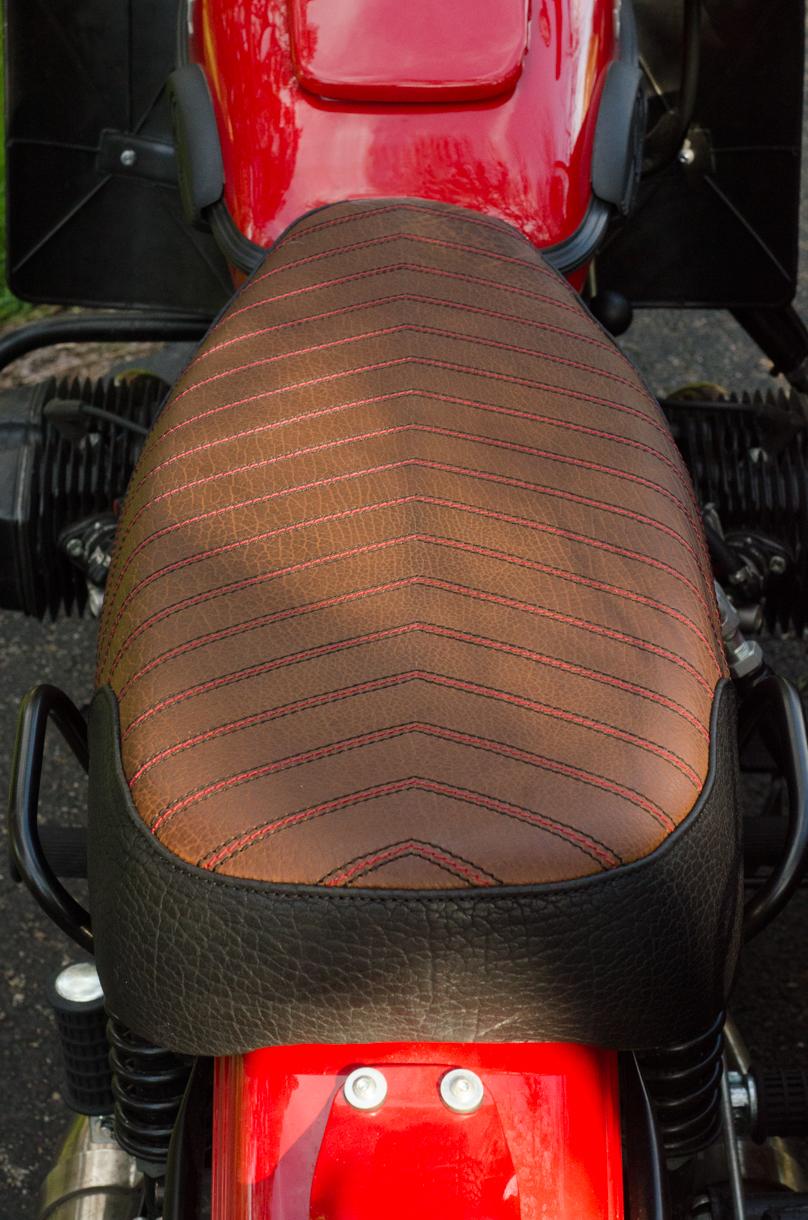 Ural Patrol side car red custom motorcycle leh cycling goods bison leather black brown custom motorcycle -6.jpg