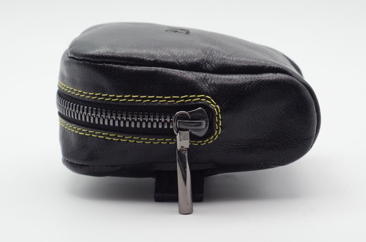 Black Kid small saddle bag custom leh cycling goods-2.jpg
