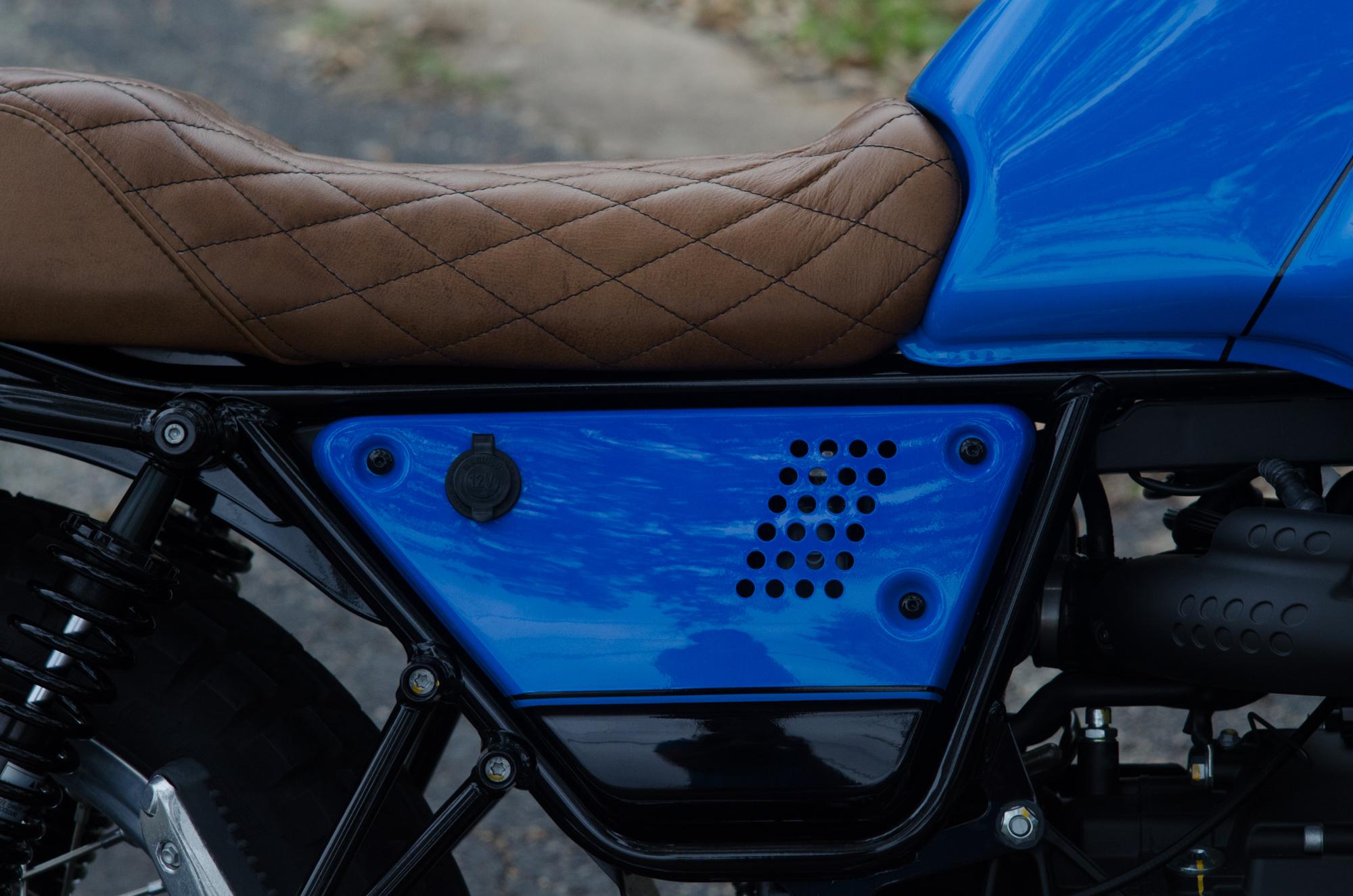 Obsidian Leather Goods Custom Moto Guzzi leather saddle with etched logo- custom- -12.jpg