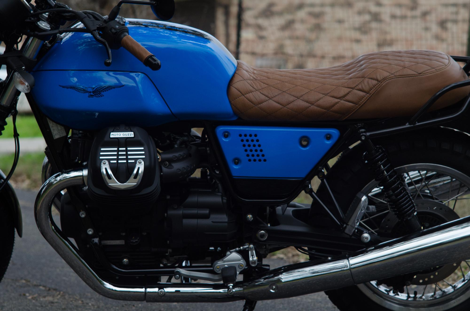 Obsidian Leather Goods Custom Moto Guzzi leather saddle with etched logo- custom- -10.jpg