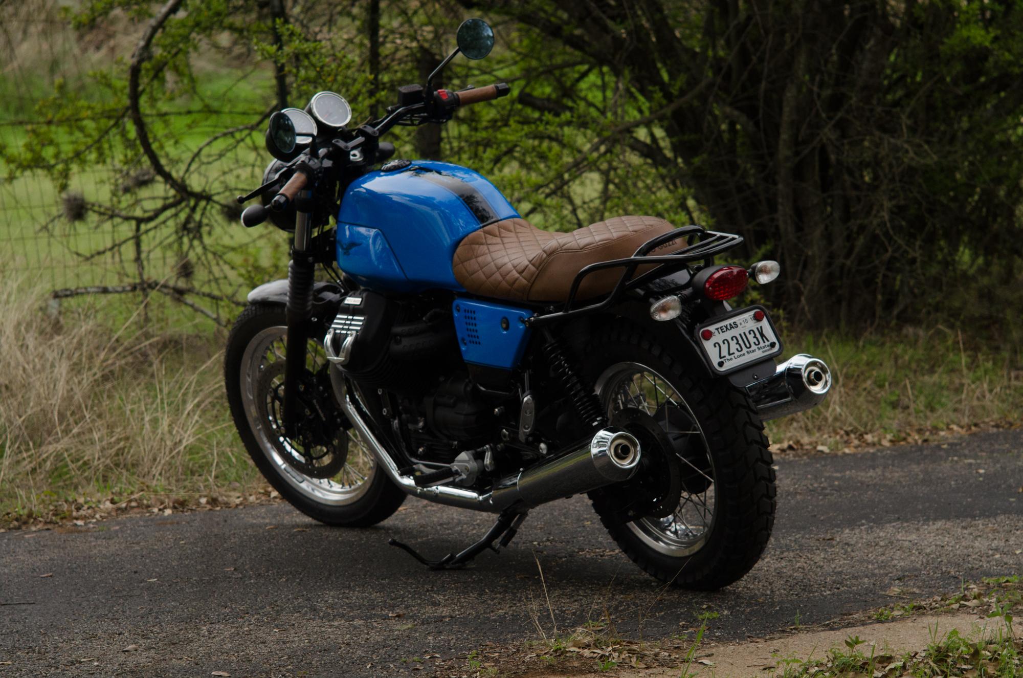 Obsidian Leather Goods Custom Moto Guzzi leather saddle with etched logo- custom- -3.jpg