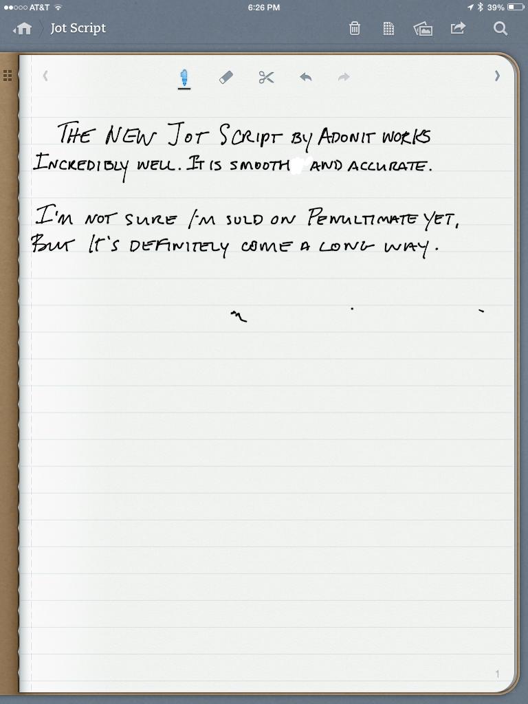 Penultimate - Standard Page View 2