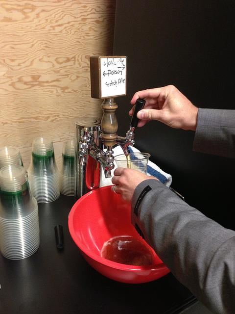 Beer O'Clock at Evernote HQ